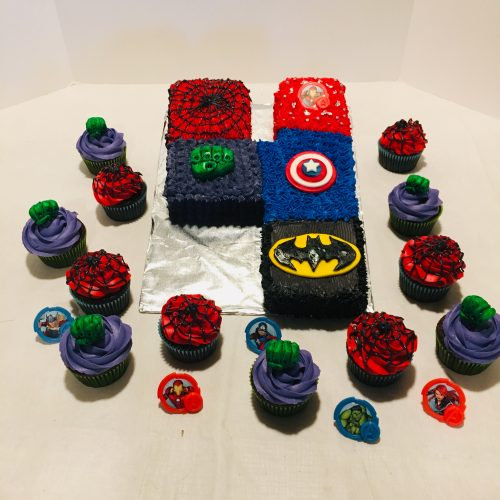 Remarkable Superheroes Birthday Cake Intensive Cake Unit Personalised Birthday Cards Rectzonderlifede